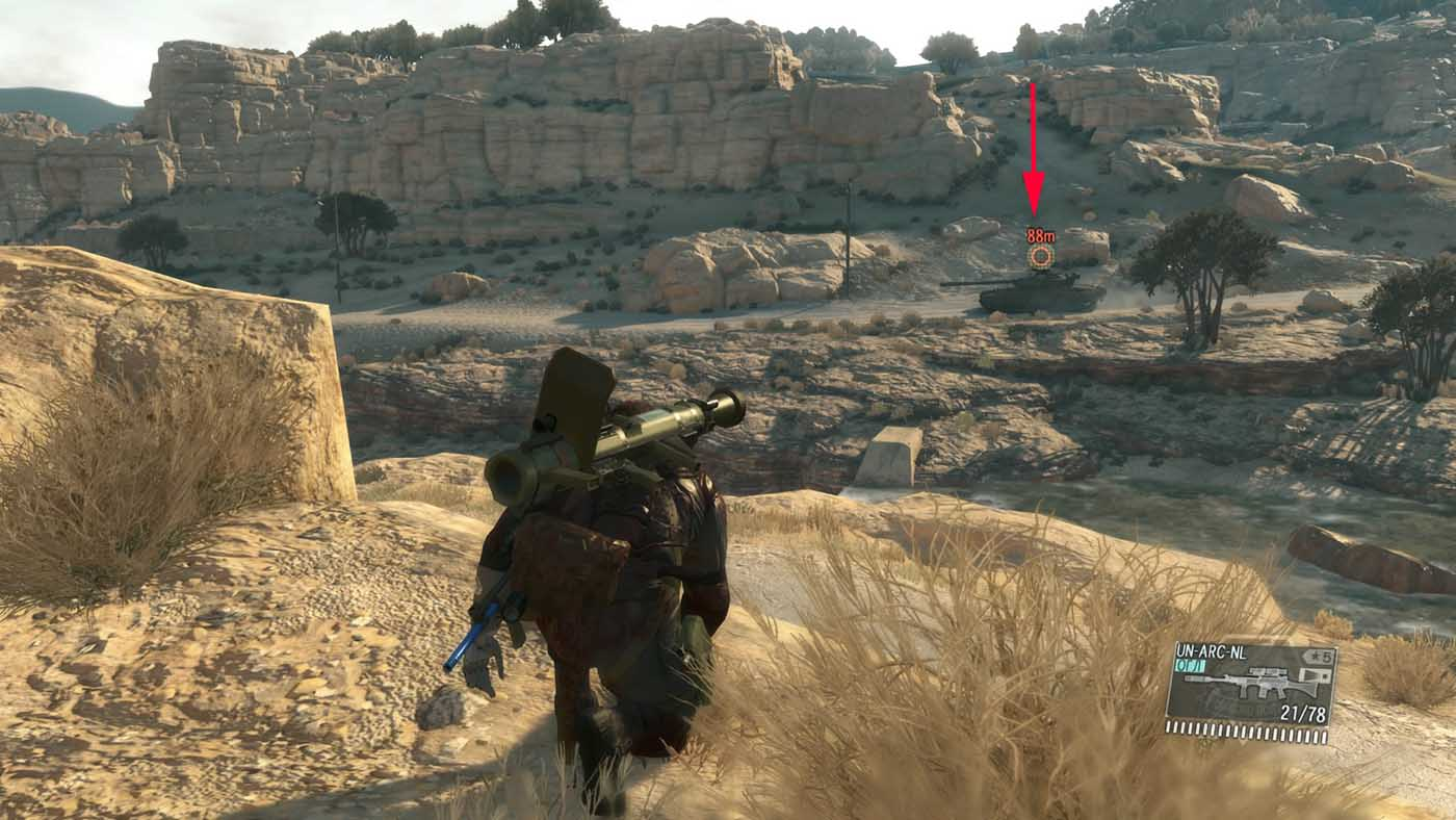 Metal Gear Solid V: The Phantom Pain Эвакуировано 3 танка