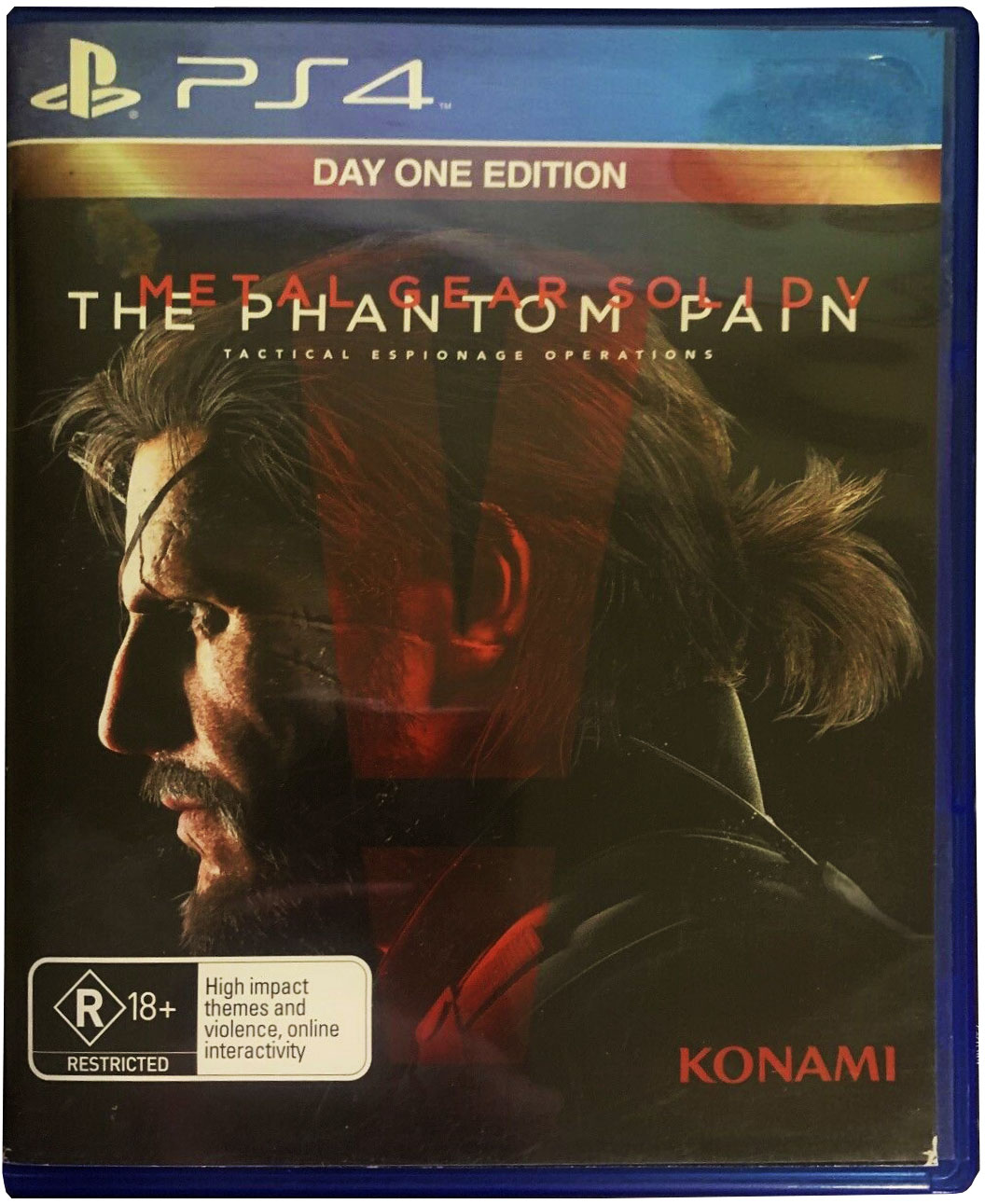 Metal Gear Solid V: The Phantom Pain (Day One Edition) Издание в Австралии