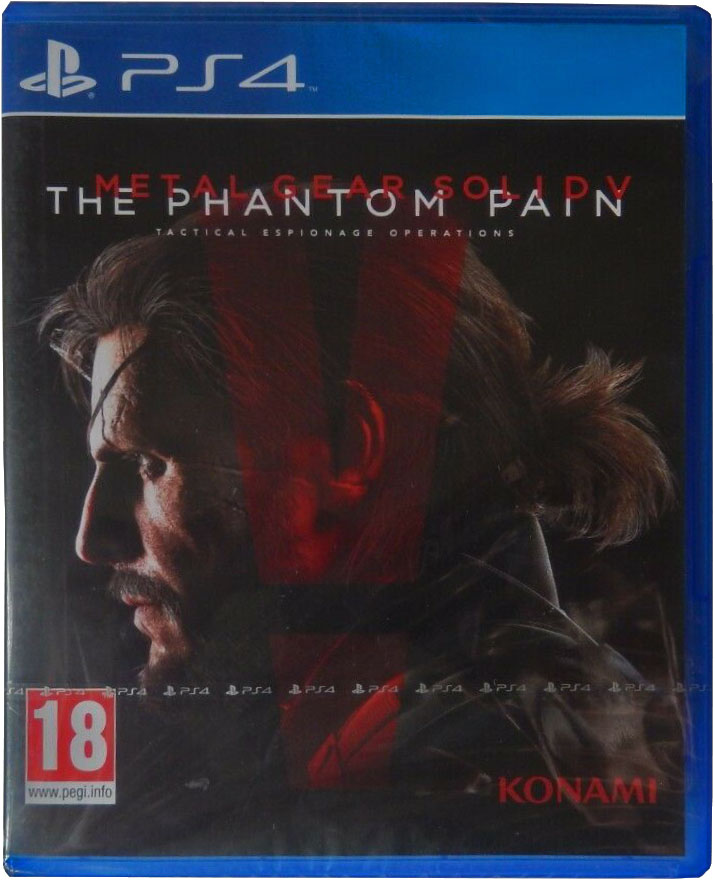 Metal Gear Solid V: The Phantom Pain Издание в Европе