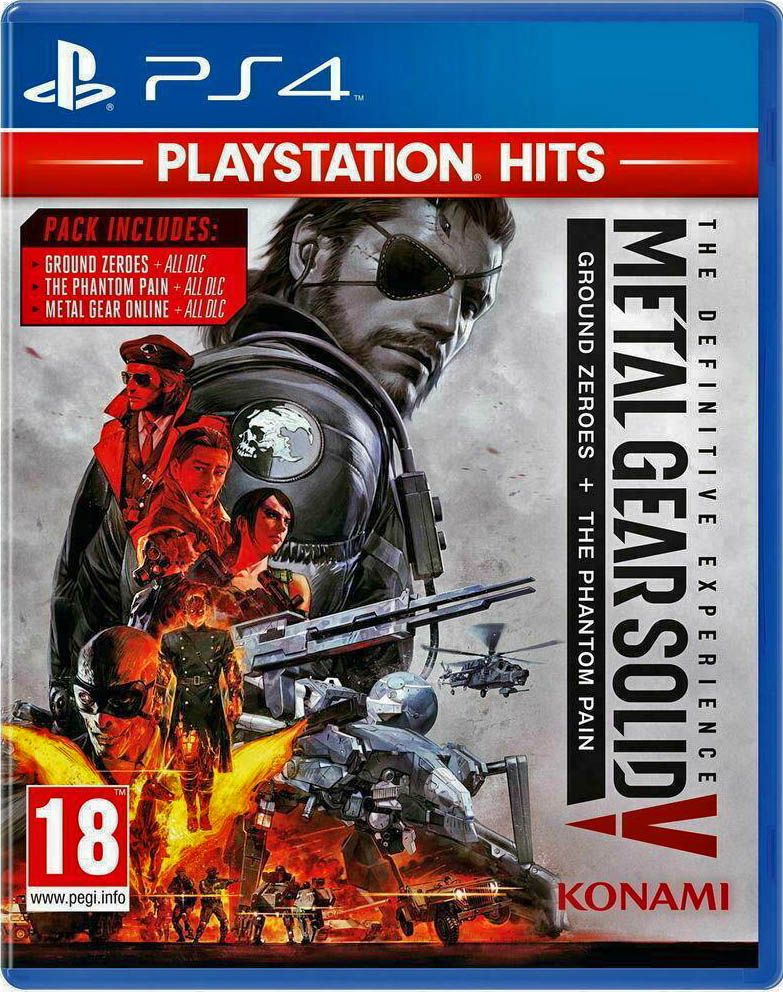 Metal Gear Solid V: The Definitive Experience (PlayStation Hits) Издание в Европе