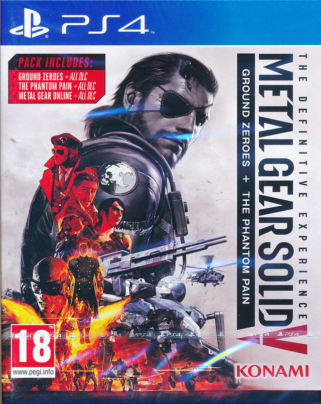 Metal Gear Solid V: The Definitive Experience PS4 Европа