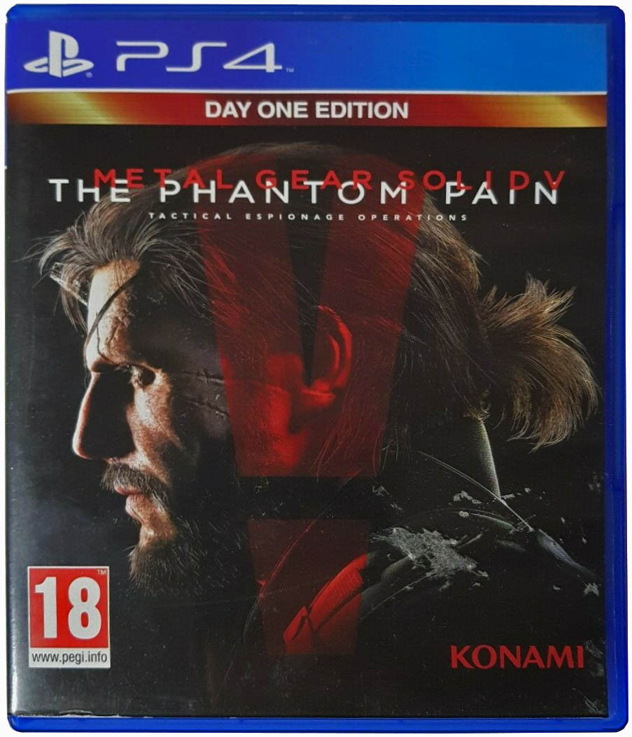 Metal Gear Solid V: The Phantom Pain (Day One Edition) Издание во Франции
