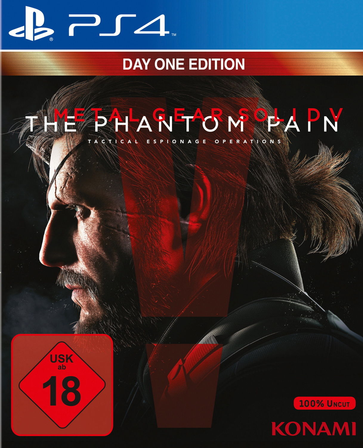 Metal Gear Solid V: The Phantom Pain (Day One Edition) Издание в Германии