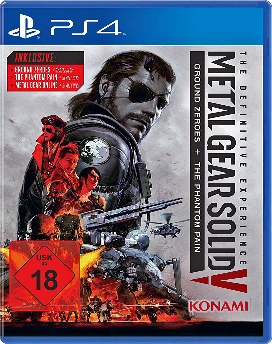 Metal Gear Solid V: The Definitive Experience Издание в Германии