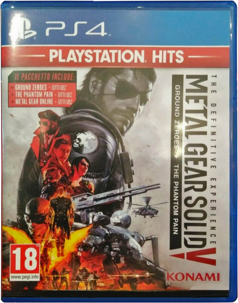 Metal Gear Solid V: The Definitive Experience (PlayStation Hits) Издание в Италии
