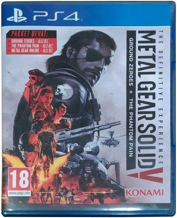 Metal Gear Solid V: The Definitive Experience Издание в Нидерландах