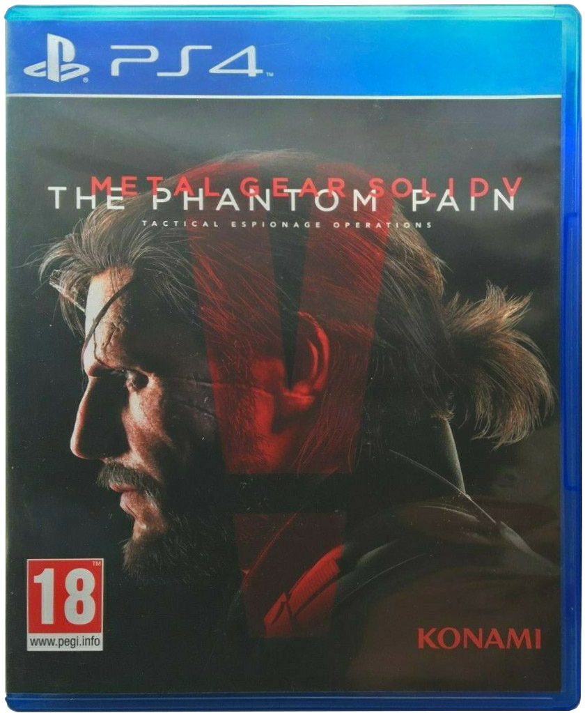 Metal Gear Solid V: The Phantom Pain Издание в Испании