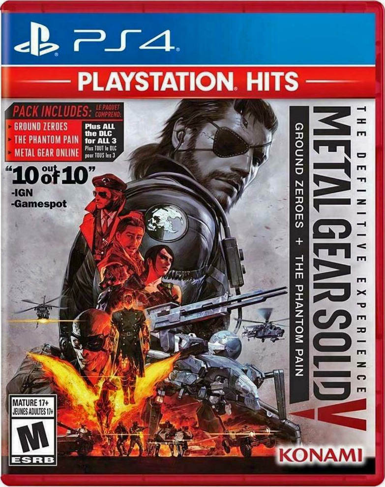 Metal Gear Solid V: The Definitive Experience (PlayStation Hits) Издание в США
