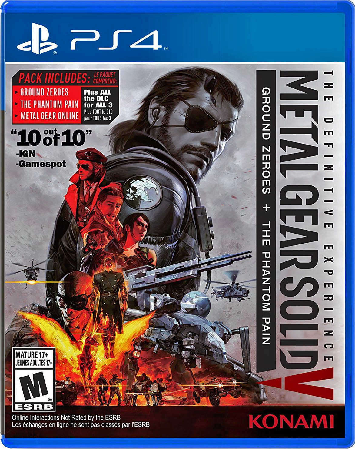Metal Gear Solid V: The Definitive Experience Издание в США
