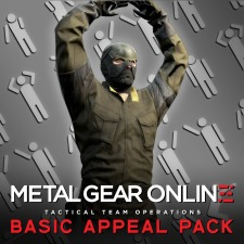 Metal Gear Online Basic Appeal Pack